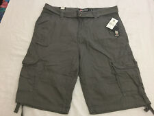 b4342307b7 Southpole Mens Belted Cotton Cargo Shorts Size 36