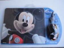 MOUSE+TAPPETINO PAD DISNEY-TOPOLINO MICKEYMOUSE -IN BLISTER  - offerta