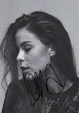 Originalautogramm - Lena Meyer-Landrut
