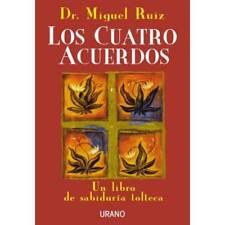 Los Cuatro Acuerdos by Dr. Miguel Ruiz (Spanish) - NEW Book -