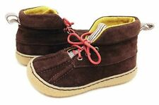 New LIVIE & LUCA Shoes Boots Gordon Brown Suede Leather 10