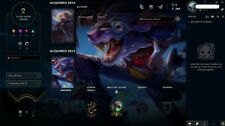 League of Legends account EUW -Unranked--8 champions--2 skins-