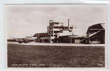 STATES OF JERSEY AIRPORT, JERSEY: Channel Islands postcard (C14466)