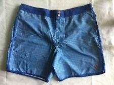 "Ted Baker Mens Size 7 40"" Waist Blue Swim Suit Trunks Pocket Lobster NEW"