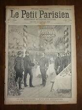 PETIT PARISIEN - 1890 N° 96 fête de la SAINTE-BARBE