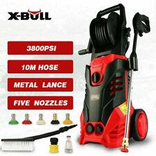 X-BULL 3500PSI High Pressure Water Cleaner Washer Electric Pump Hose Gurney