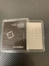 100 Gram Valcambi Suisse Silver CombiBar (100x1g) Sealed