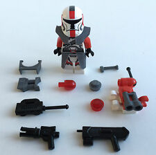 Lego Star Wars Custom Republic Commando Clone Trooper + Top Custom Equipment