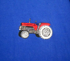 RED TRACTOR throwback T shirt XXXXL embroidery 4XL old-school farming Super C