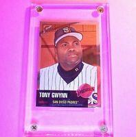 1999 Topps Gallery Heritage Chrome PROOF SP #TH6 Tony Gwynn Padres HOF