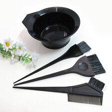 Haarfärbepinsel SET 4Stk Haarfarbe Kamm Bürsten Färbeschale Färbepinsel+Schüssel