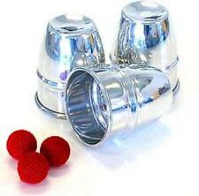 More details for alluminium cups & balls set