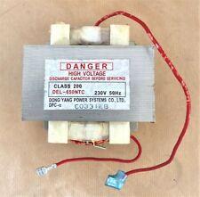 TRASFORMATORE PER FORNO MICROONDE DELONGHI MW401 DEL - 650NTC 5119101600