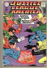 Justice League Of America #56-1967 gd+ 1st Earth II Wonder Woman JSA