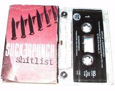 Suckerpunch Sh.tlist Promo Cassette Single (1996) Pop Punk Rock