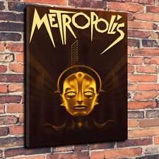 """Metropolis Fritz Lang Printed Canvas A1.30""""x20"""" 30mm Frame Queen Radio Gaga V3"""