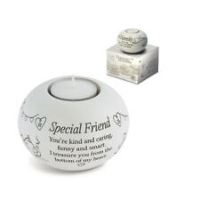 Said With Sentiment 7326 Special Friend Tealight Holder