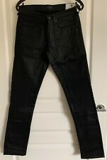 Belstaff Blackrod Denim Black Size 28 BNWT