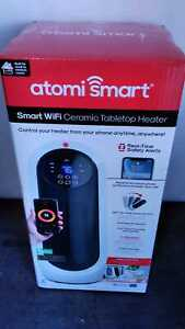 atomi smart Smart Wi-Fi 1500-Watt Electric Personal Portable Ceramic Oscillating