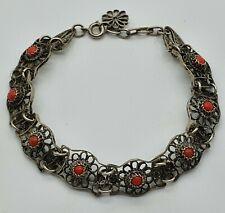Filigran Silber Armband mit Korallen -  21.5.20