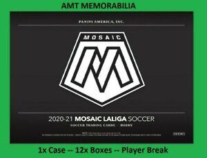 Riqui Puig 2020/21 20/21 Panini Mosaic La Liga 1X CASE 12X BOX BREAK #1