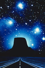 Close Encounters of the Third Kind UFO's over Devil's Tower 24x36 Poster