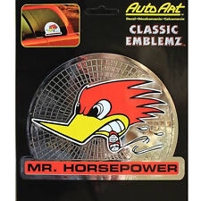 Original Tuning USA Aufkleber Mr. Horsepower Decal Sticker Clay Smith Chrom NEU