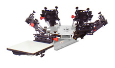 Vastex V-1000 Screen Printing Press 1 Station/6 Color
