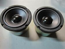 "NEW (2) 4"" Woofer Speakers.Shielded Pair.8 ohm.Monitor Replacement 4-3/8's frame"