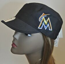 Miami Marlins Bling Womens Cadet Hat Cap Worlds Finest Crystal Rhinestones
