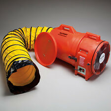 "Allegro 9543-25 Confined Space 12"" Plastic Axial Blower with 25' Ducting"