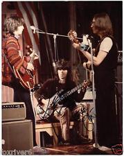 ERIC CLAPTON / KEITH RICHARDS Signed Photograph - with John Lennon - Preprint