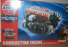 COMBUSTION ENGINE Build & Play ELECTRONIC Operating MODEL with LIGHTS & SOUND