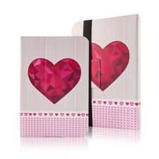 Universal Tablet Tasche Schutzhülle Case Hearts für 7-8 Zoll