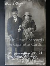 """c1921 RP: Silver Wedding Years 25 """"How Happy They Seem, To Think They're Alive"""