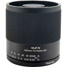 Tokina SZX 400mm f/8 Reflex MF APS-C Catadioptric Telephoto Lens for Sony E