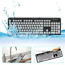 Logitech K310 Washable Slim USB Keyboard Easy Clean Plug & Play for PC Laptop