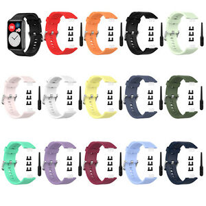 Replacement Silicone Bracelet Watch Band Strap for Huawei Watch Fit Smart Watch