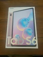 "*New Sealed* Samsung 10.5"" Galaxy Tab S6 128GB Tablet WiFi Only Rose Blush+S-Pen"