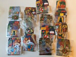 New Bundle of approx 108 Christmas Homemade Crafting Scrapbook Gift Tags