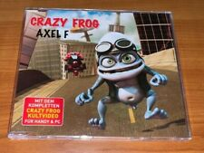 Maxi CD ~ Axel F ~ CRAZY FROG mit Video ~ sehr guter Zustand