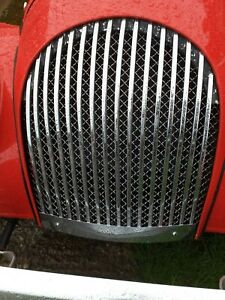 Morgan Stainless Steel Radiator Grille Mesh for cars 1960-Present MOGFEST