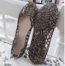 Women's Hot Sale Ventilate Crystal Shoes Jelly Hollow Sandals Flat Shoes Size 40