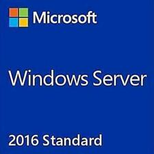 Server 2016 Standard 64bit  FULL VERSION Genuine Key