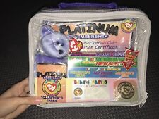 1999 TY Beanie Babies Official Club Platinum Membership Edition Kit  Clubby II