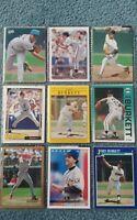 John Burkett Baseball Card Mixed Lot approx 58 cards