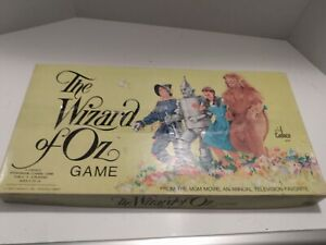 Vintage The Wizard Of Oz Board Game 1974 Cadaco, Inc. Complete Game