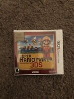 Nintendos Selects Super Mario Maker For 3DS Brand New Sealed FAST SHIPPING