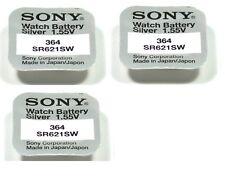 SONY 3 piles Sony 364 / SR621SW 1,55V