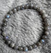 labradorite crystal healing 6mm bead bracelet
